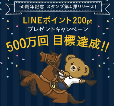 ラルフローレンからLINEポイント200円分を5000名様にプレゼント!